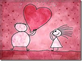 couple heart cartoon