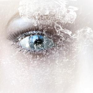 digital rendering of an eye